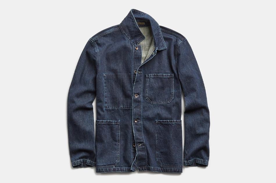 Todd Snyder Japanese Indigo Rinse Chore Coat