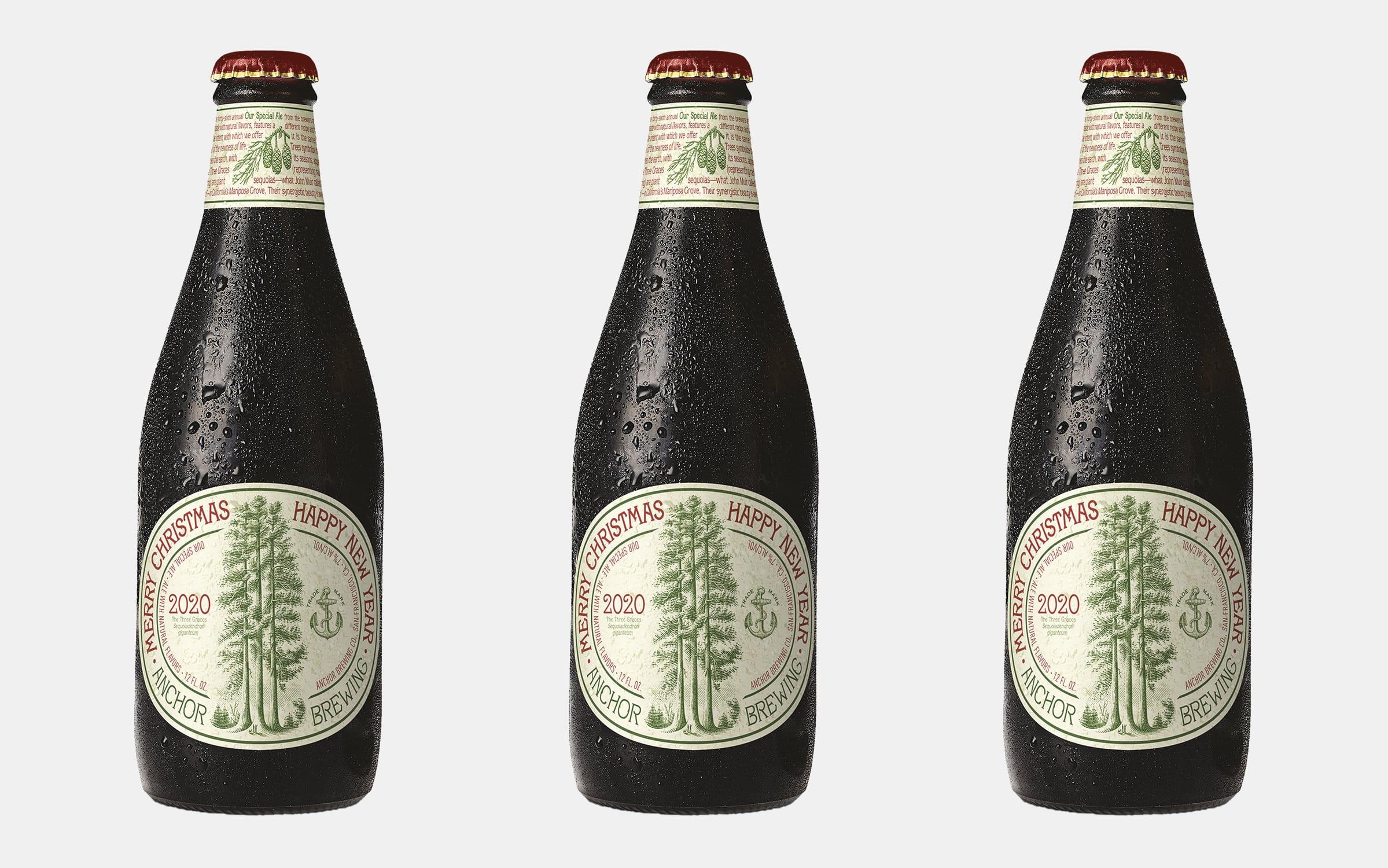 Anchor Brewing 2020 Christmas Ale