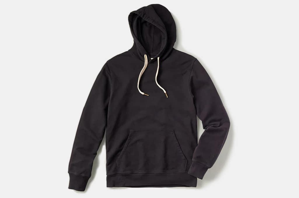 Buck Mason Brushed Loopback Hooded Sweatshirt