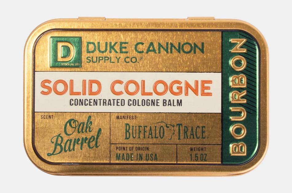 Duke Cannon Bourbon Solid Cologne