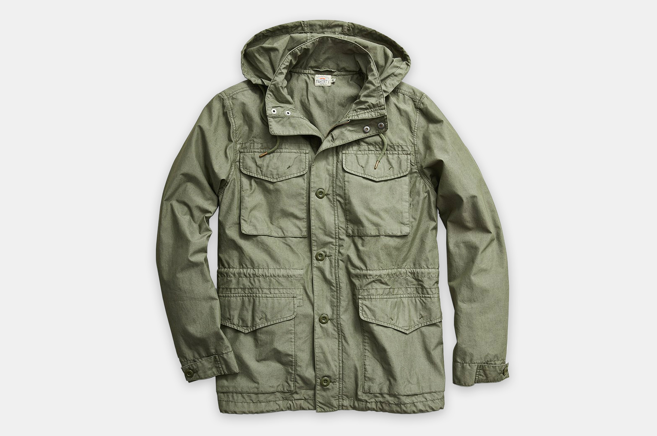 Faherty Brand Cooper M65 Jacket