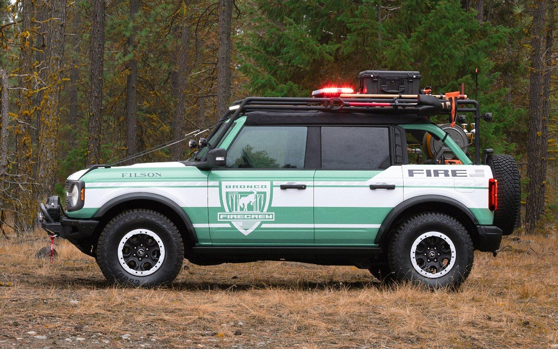 Ford Bronco x Filson Wildland Fire Rig