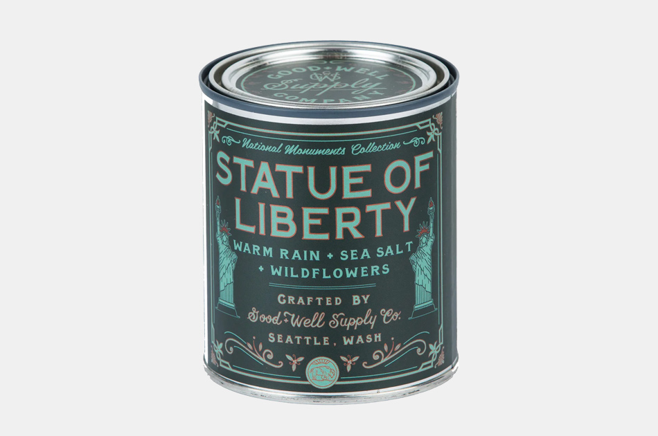 Good + Well Supply Co. Statue of Liberty Candle