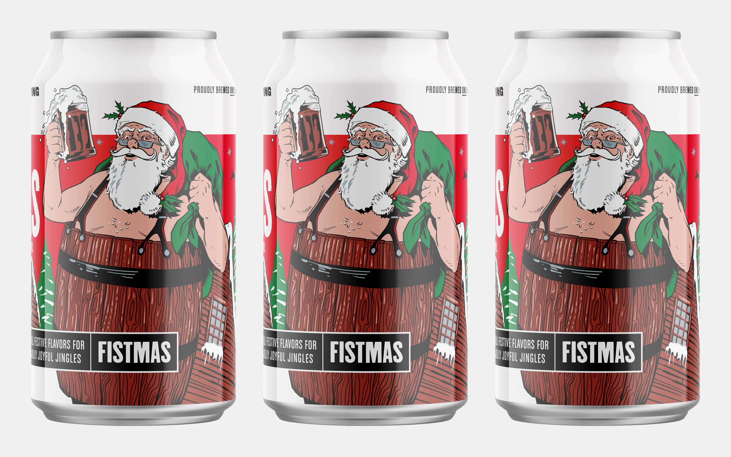 Revolution Brewing Fistmas Holiday Ale