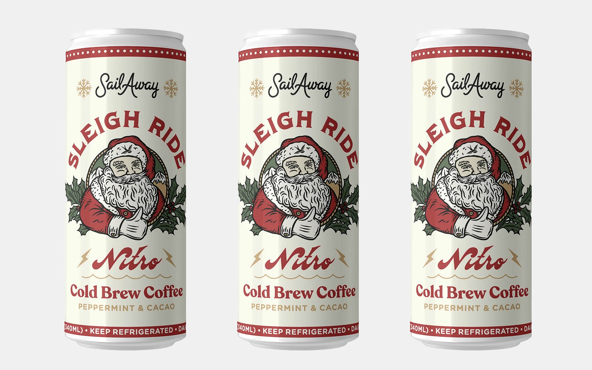 Sail Away Sleigh Ride Nitro Cold Brew Coffee