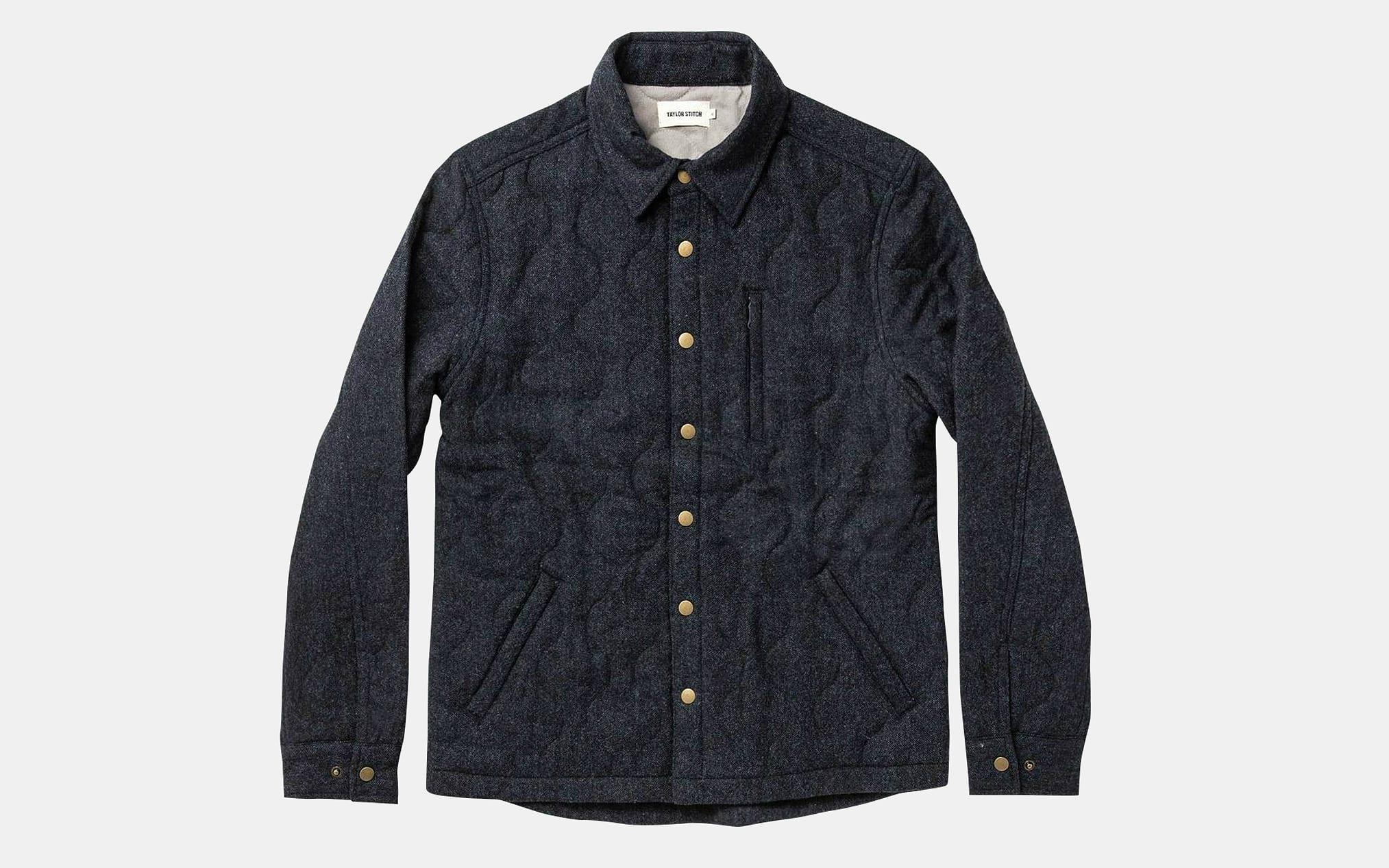 Taylor Stitch Wilton Jacket in Navy Birdseye Wool