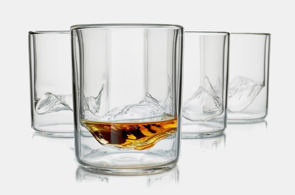 """Whiskey Peaks """"Rockies"""" Glasses"""