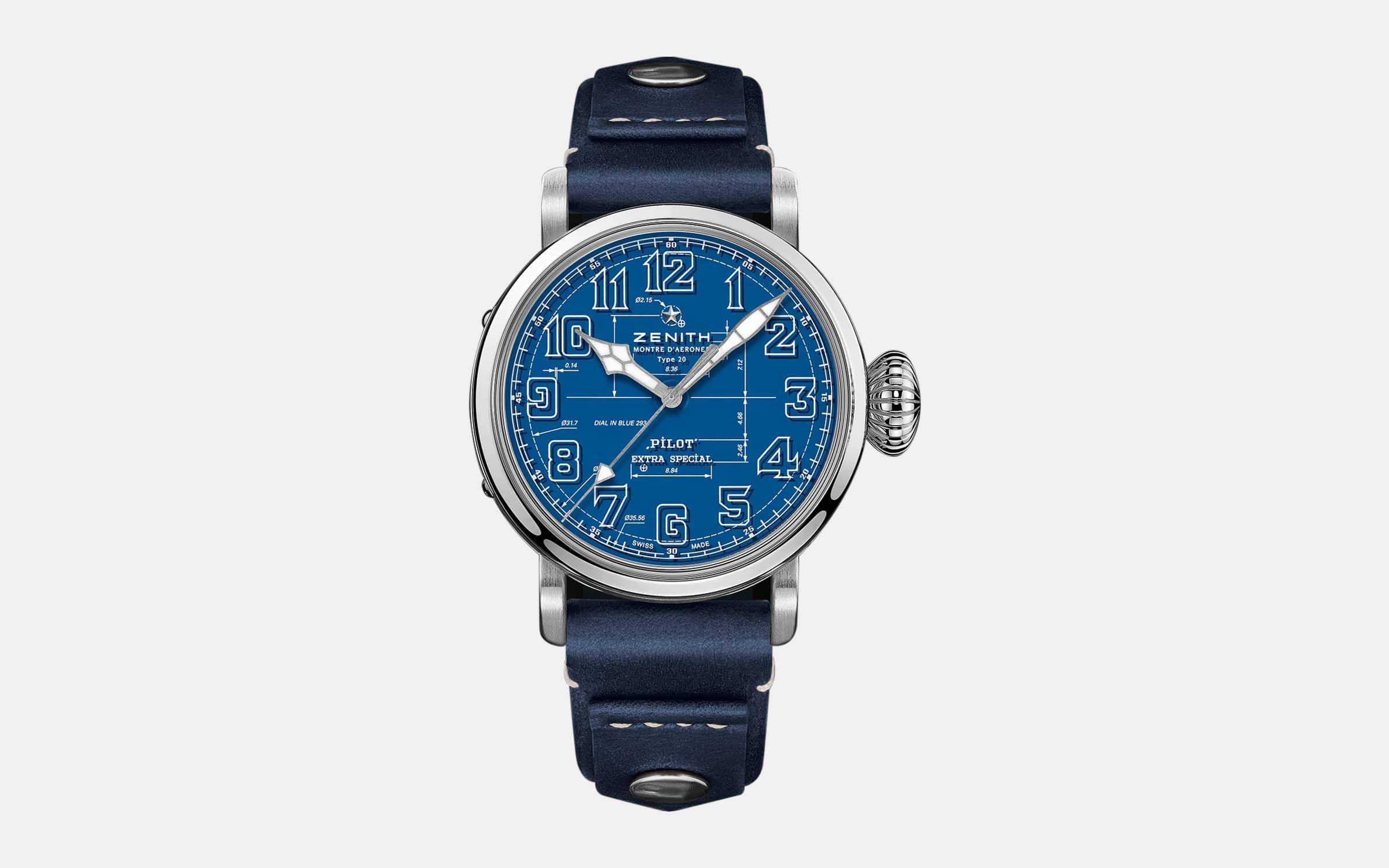 Zenith Pilot Type 20 Blueprint Watch