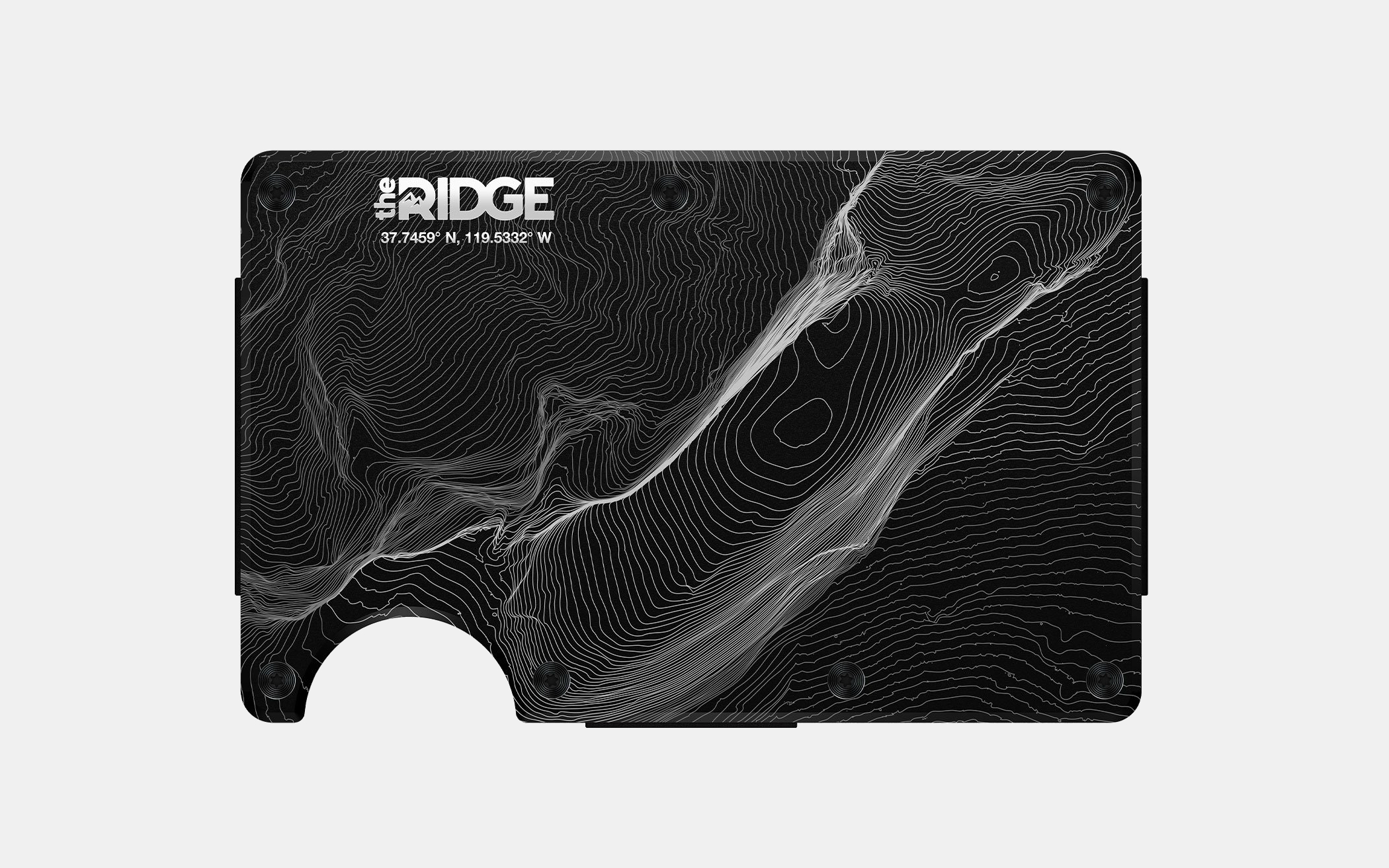 The Ridge Topographic Wallet
