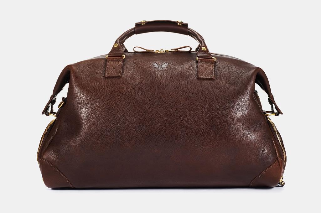 Bennett Winch Leather Weekender, Brown