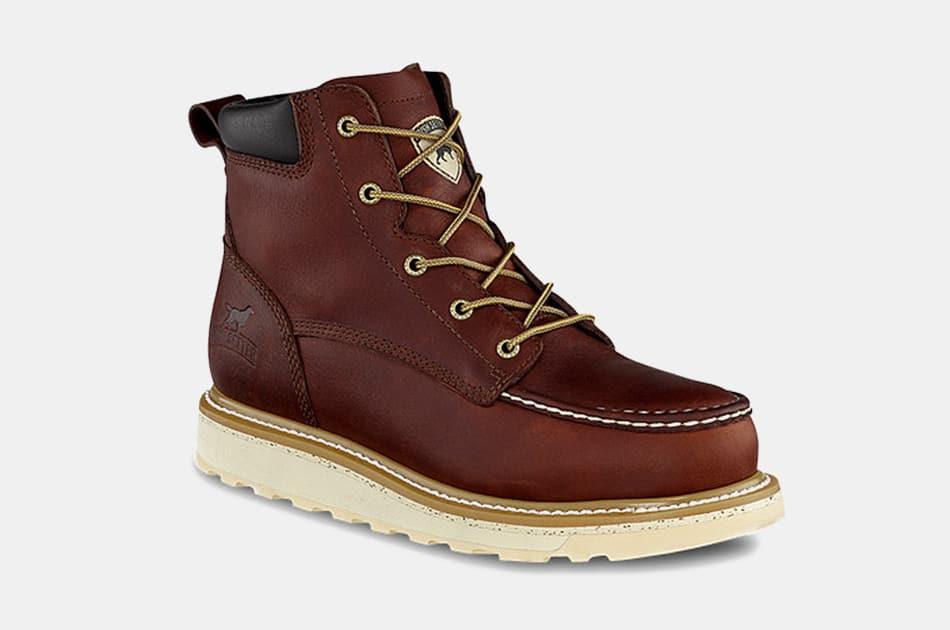 Irish Setter Ashby Moc Toe Work Boots