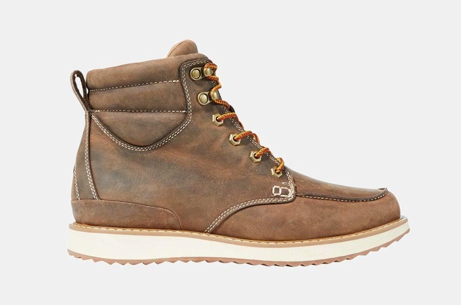 L.L. Bean Men's Stonington Moc Toe Boots