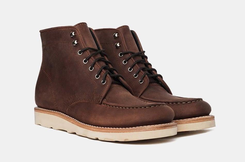 Thursday Boot Co. Diplomat Moc Toe Boot