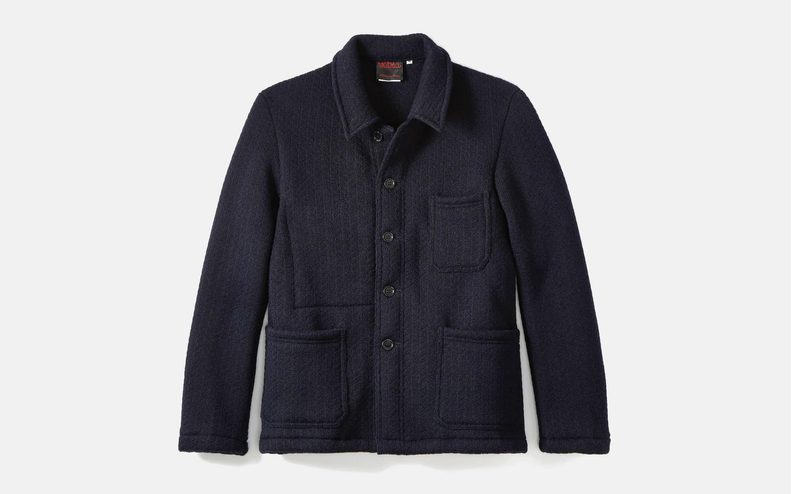 Vetra Wool Herringbone Chore Jacket