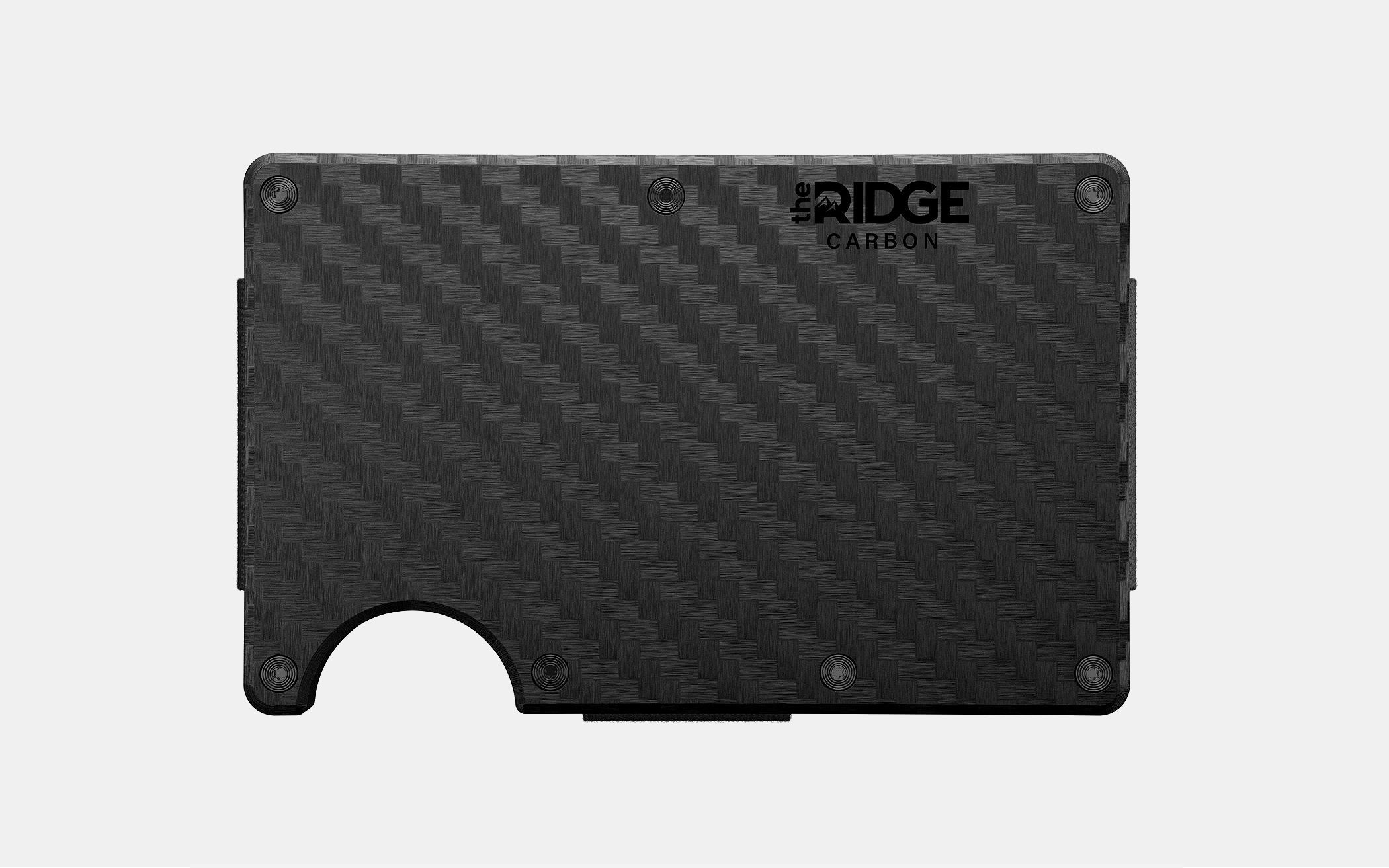 The Ridge Carbon Fiber 3K Wallet