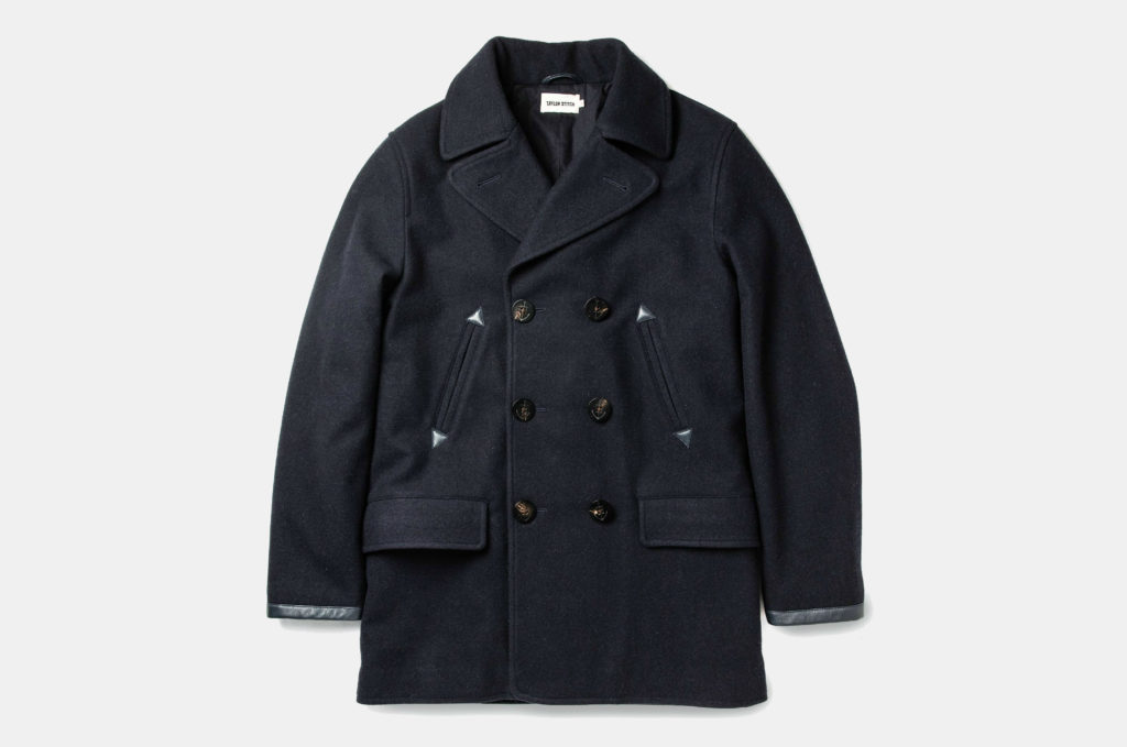 Taylor Stitch Mendocino Wool Peacoat