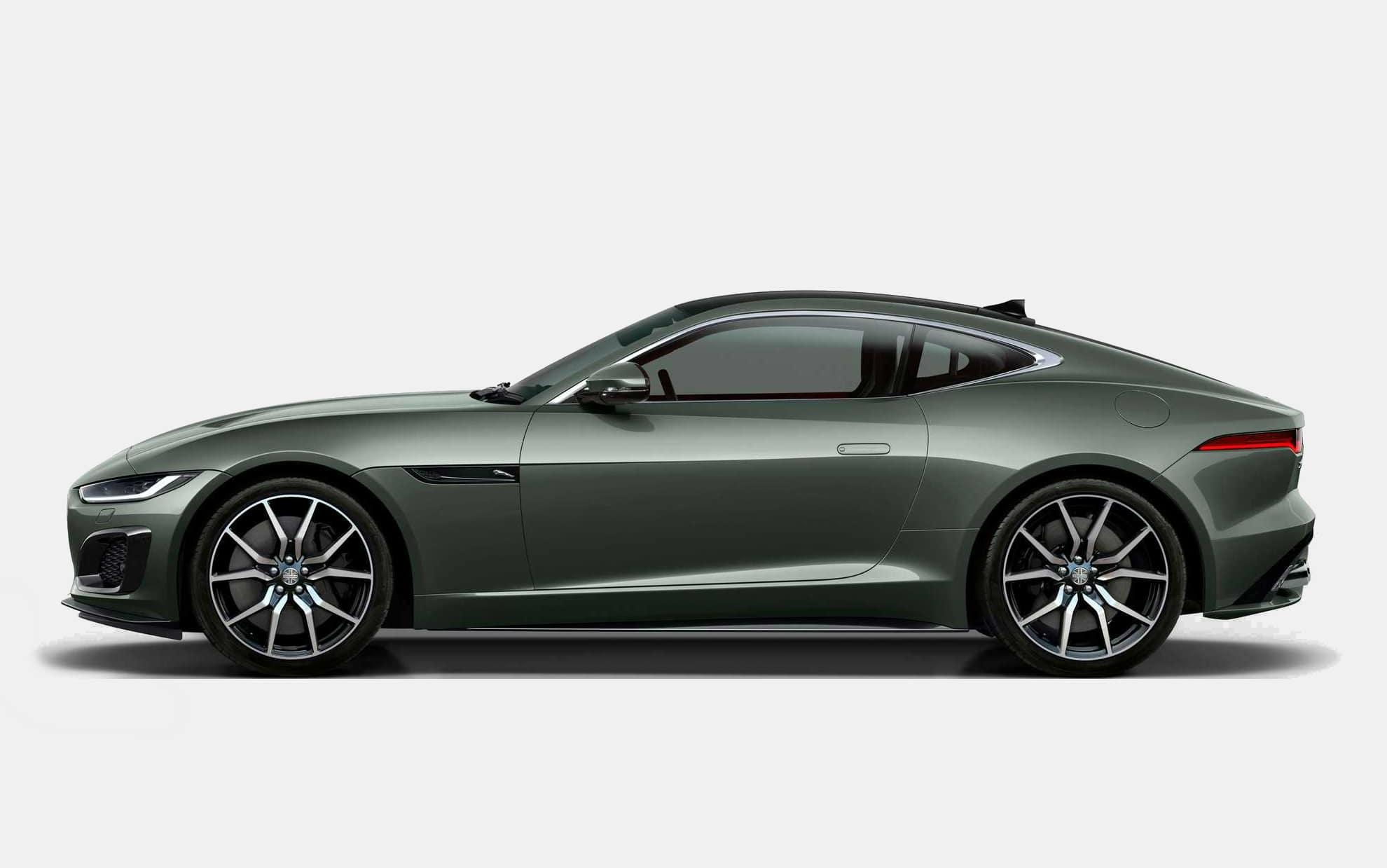 2021 Jaguar F‑Type Heritage 60 Edition