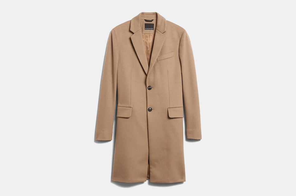 Banana Republic Italian Melton Topcoat