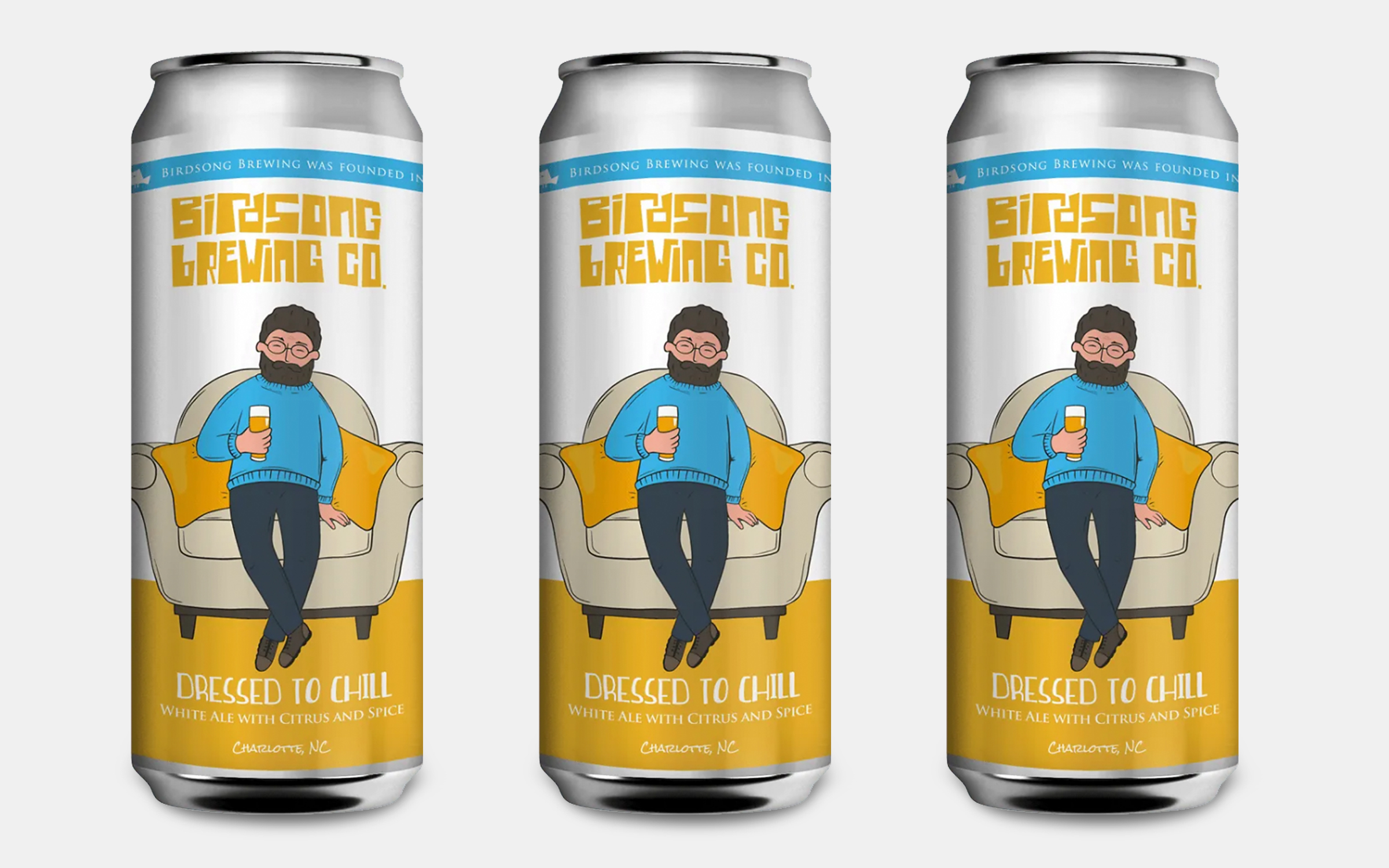 Birdsong Brewing Dressed To Chill White Ale