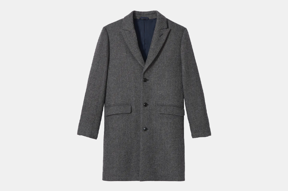 Bonobos Stretch Italian Wool Topcoat