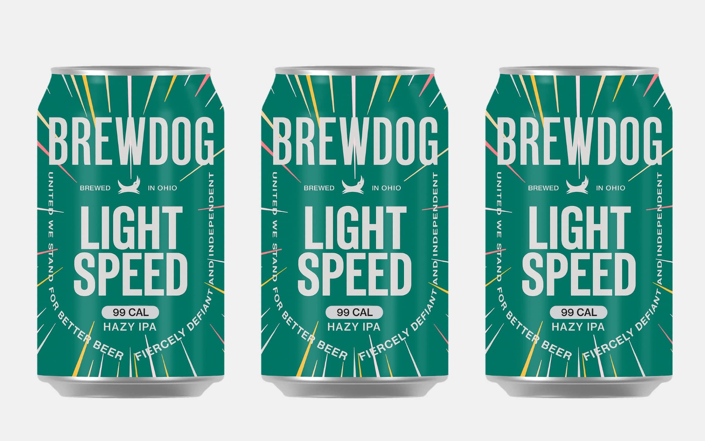 BrewDog Lightspeed Hazy IPA