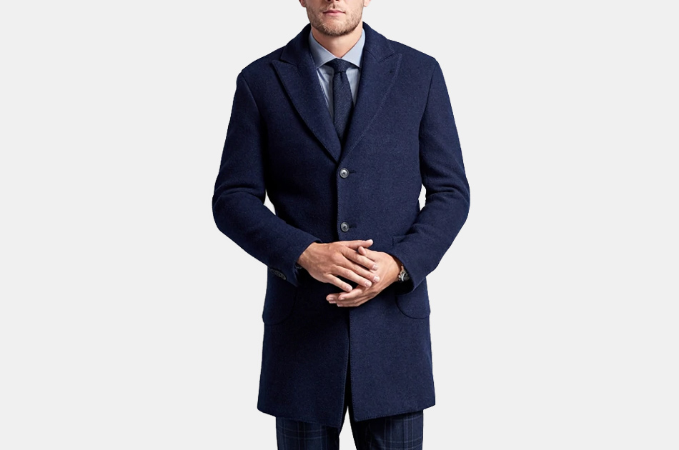 Brooks Brothers Golden Fleece Supersoft Topcoat