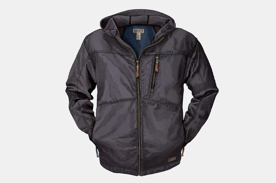 Duluth Trading Co. Men's Warden Waxed Canvas Jacket
