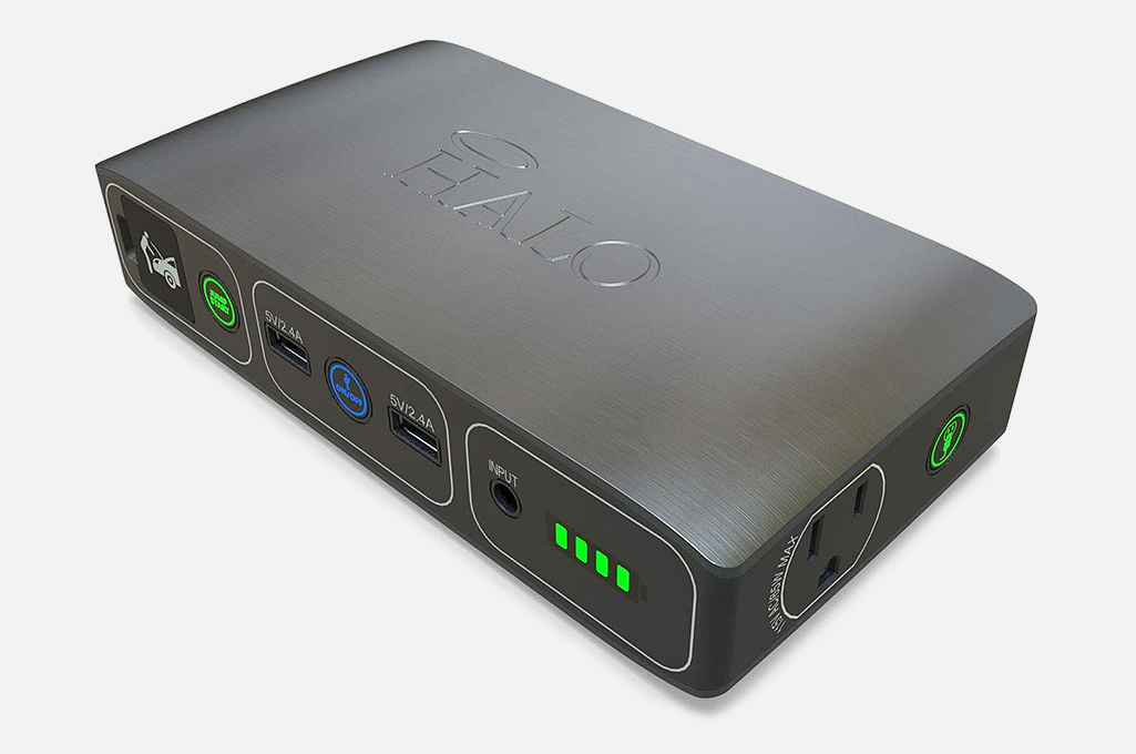 HALO Bolt 58830 mWh Portable AC Charger