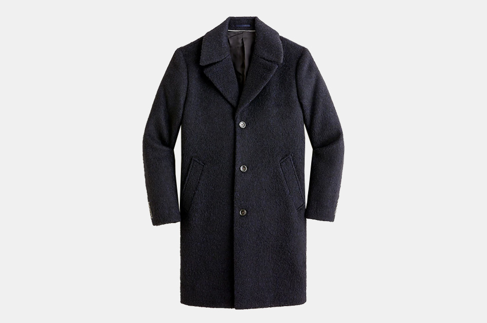J.Crew Ludlow wide-lapel topcoat