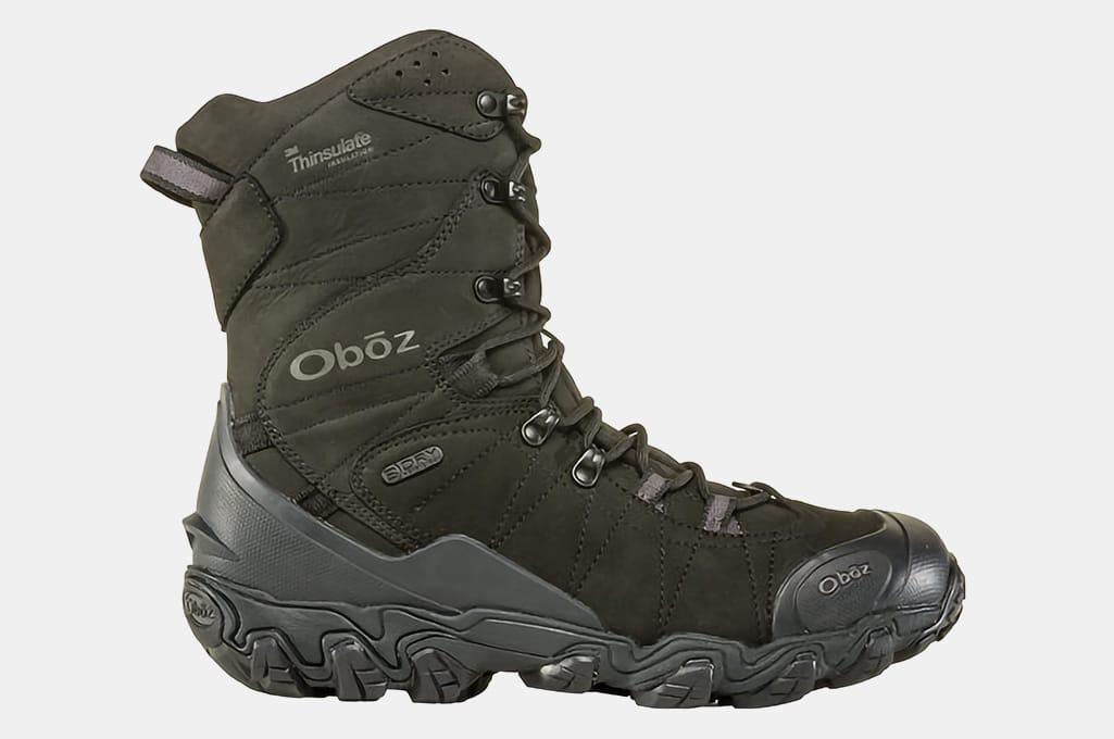 "Oboz Bridger 10"" Insulated Waterproof Boots"