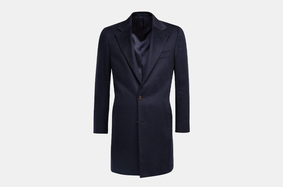 Suitsupply Navy Overcoat