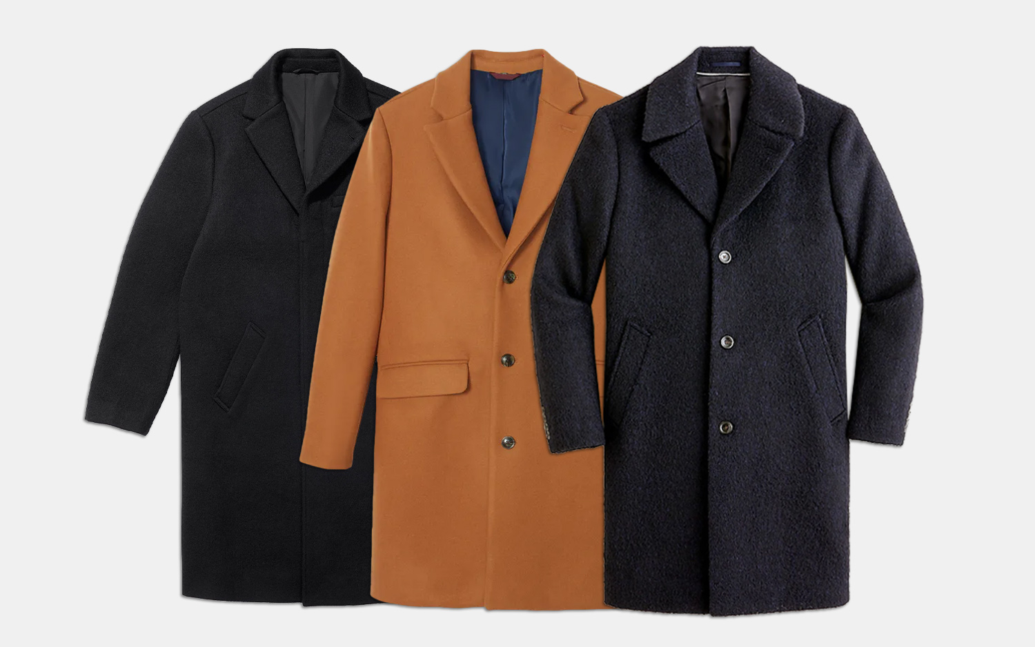 The 10 Best Men's Topcoats For Winter