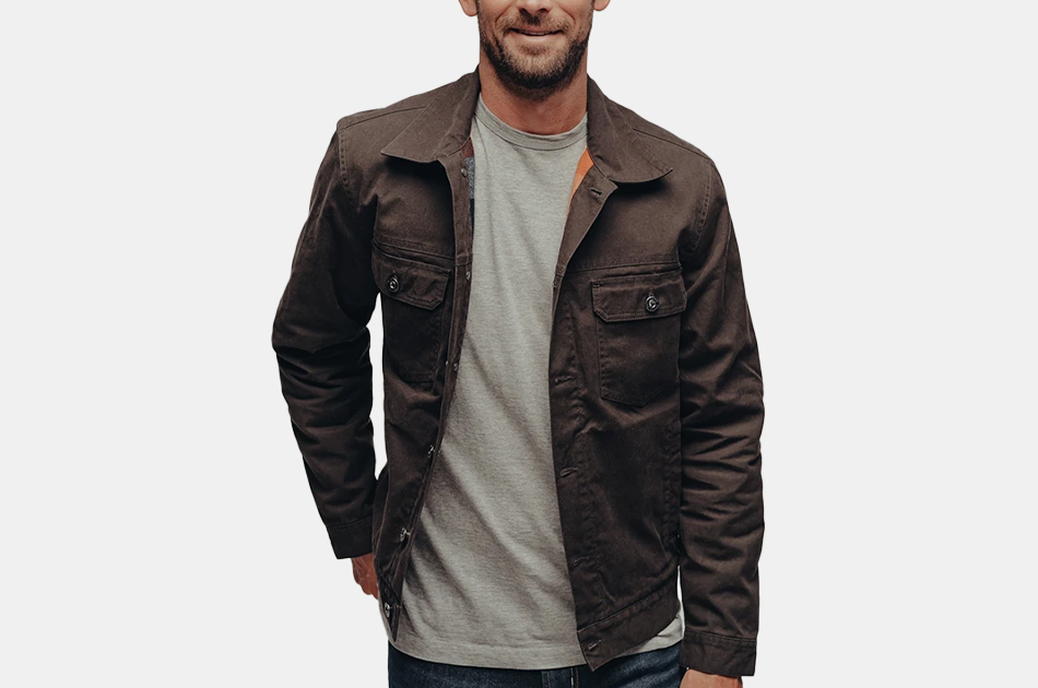 The Normal Brand Waxed Canvas Jacket