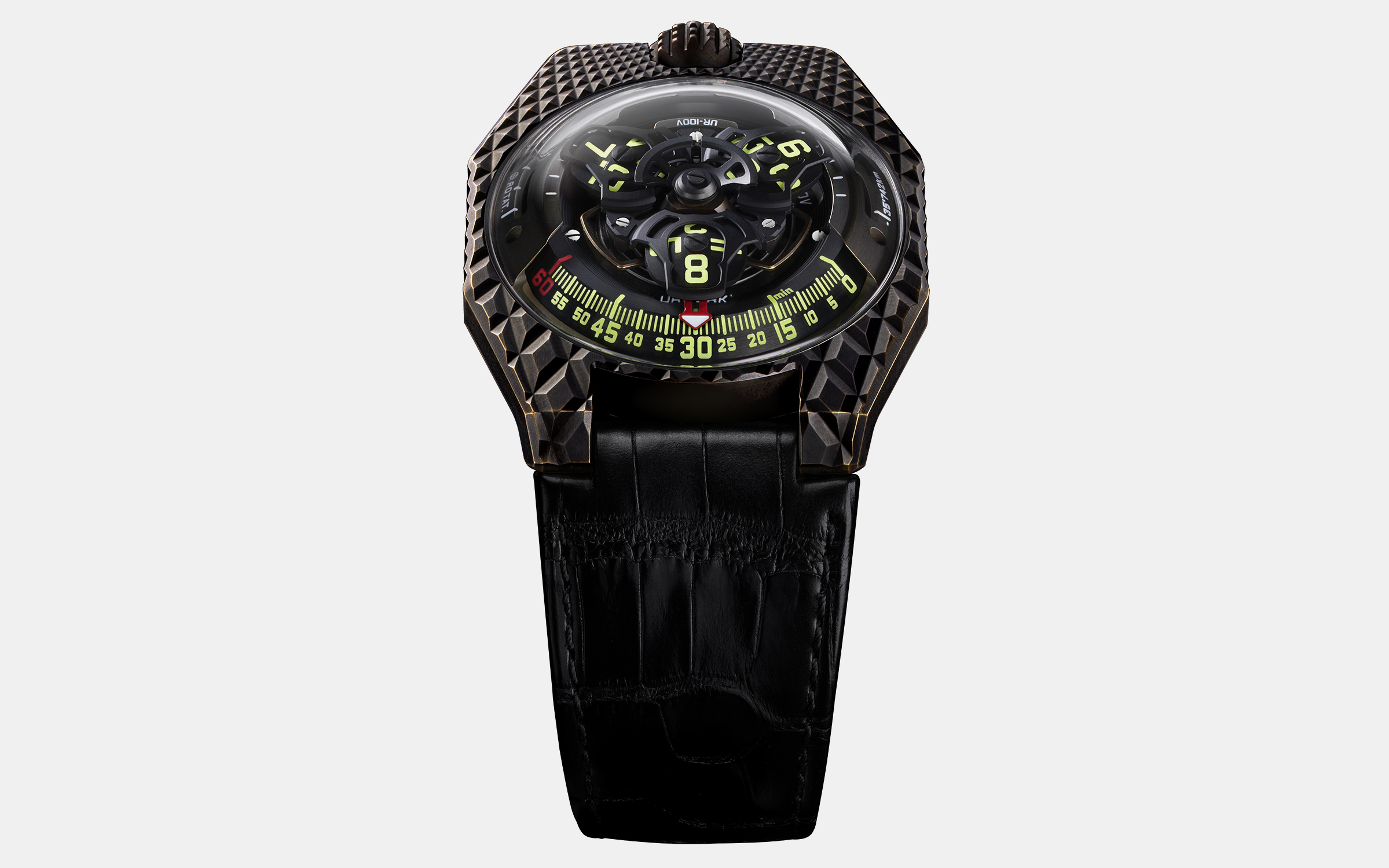 Urwerk UR-100V T-Rex Watch