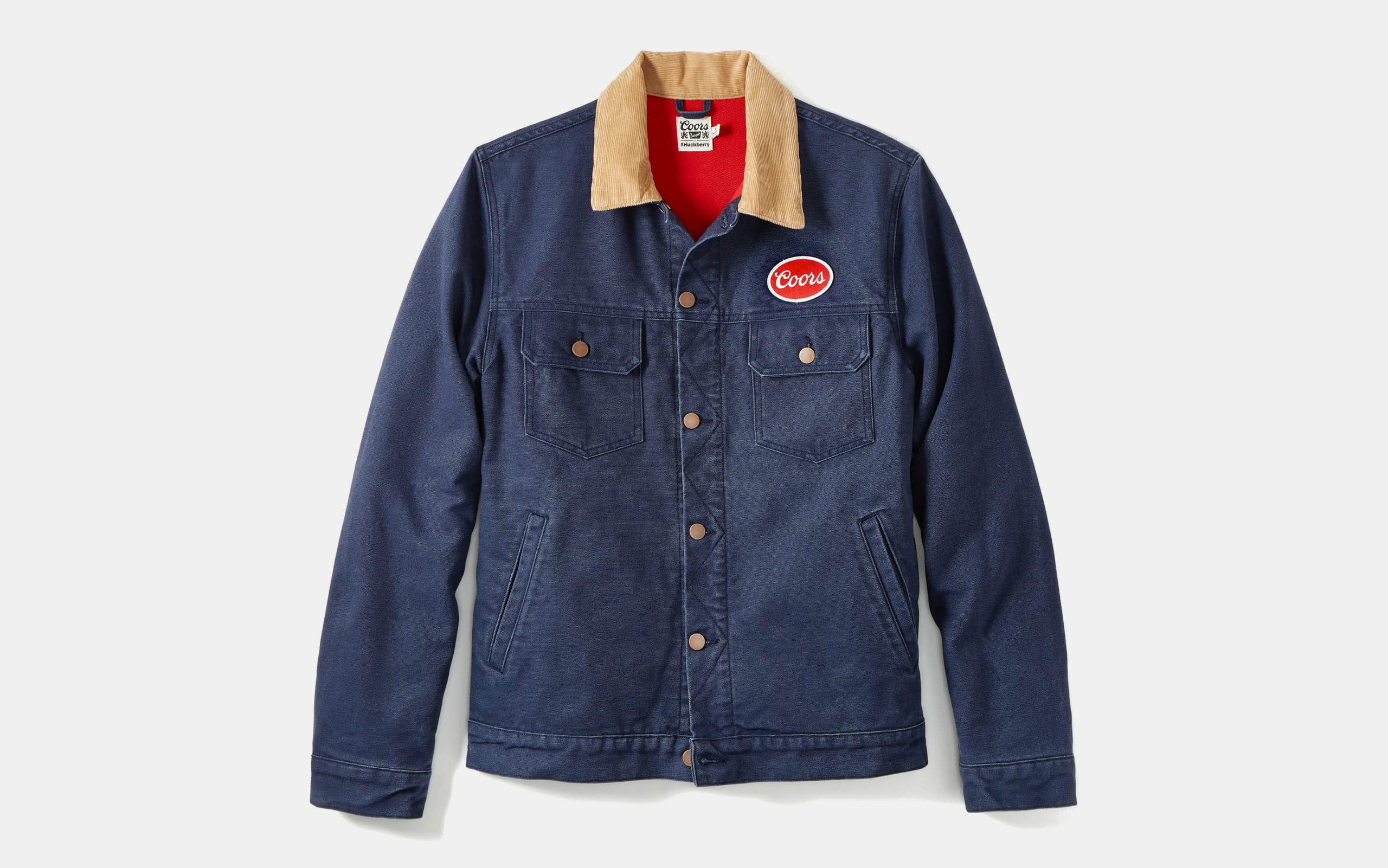Huckberry x Coors Banquet Trucker Jacket