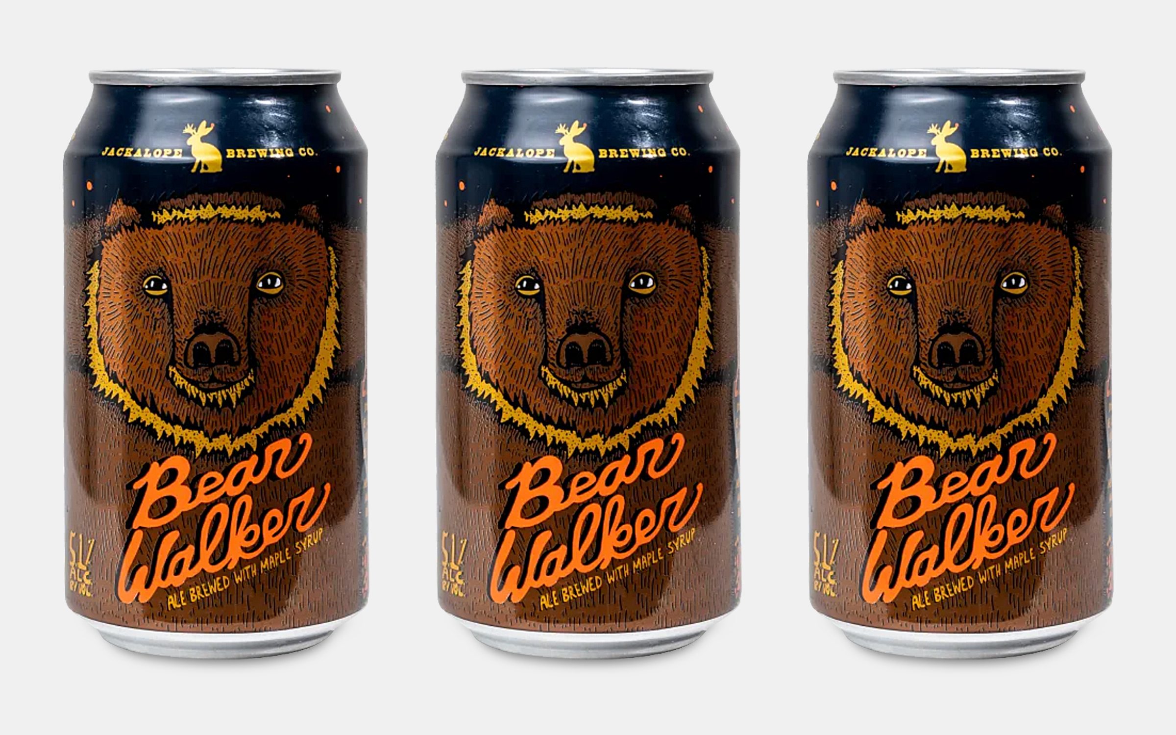 Jackalope Brewing Bearwalker Maple Brown Ale