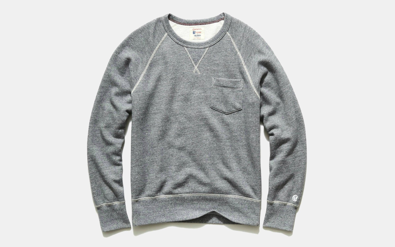 Todd Snyder Midweight Pocket Sweatshirt