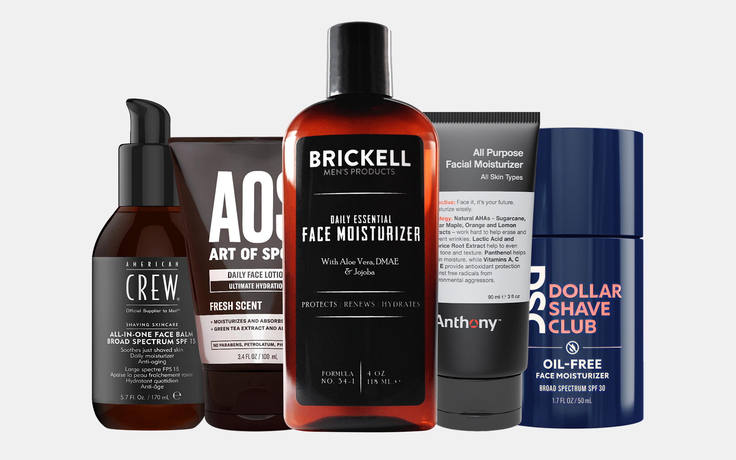 The 16 Best Face Moisturizers For Men