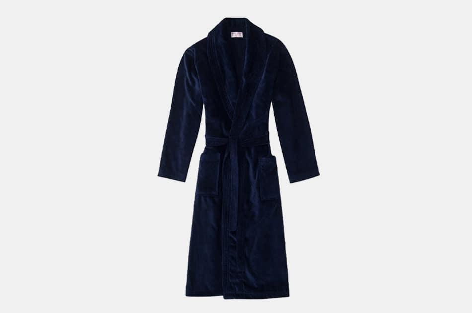 Derek Rose Men's Towelling Robe