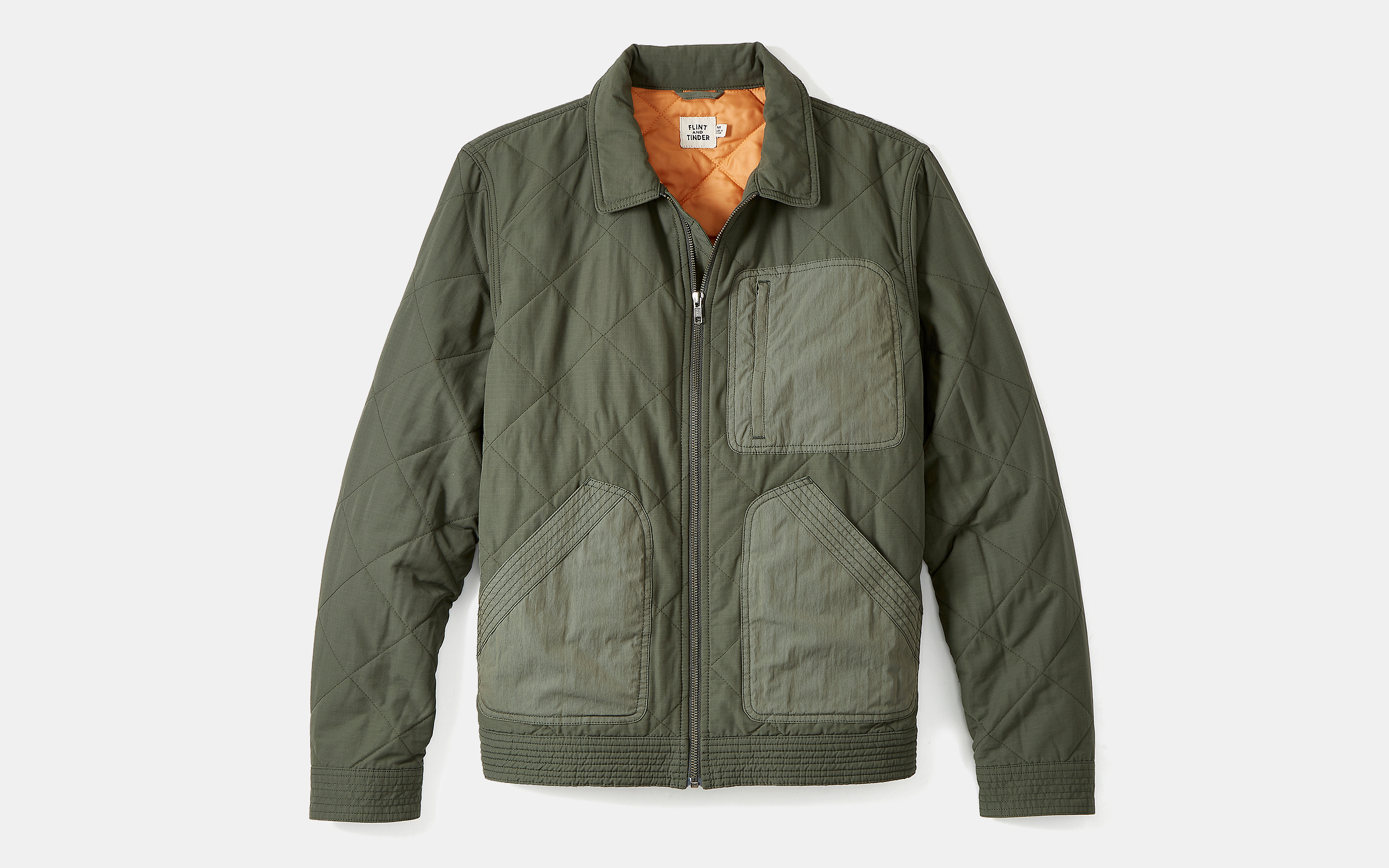 Flint and Tinder Quilted Flight Jacket