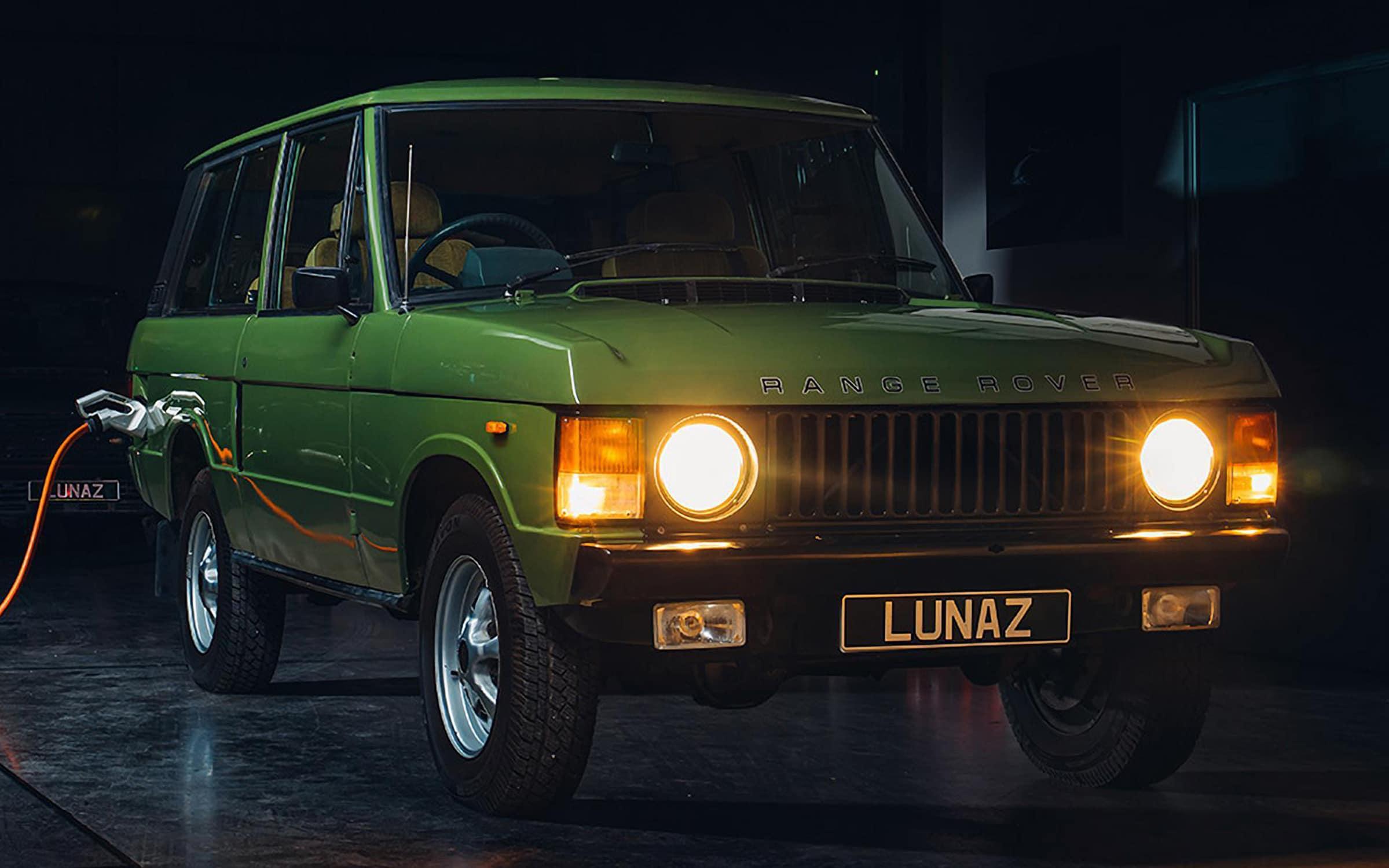 Lunaz Range Rover Classic EV