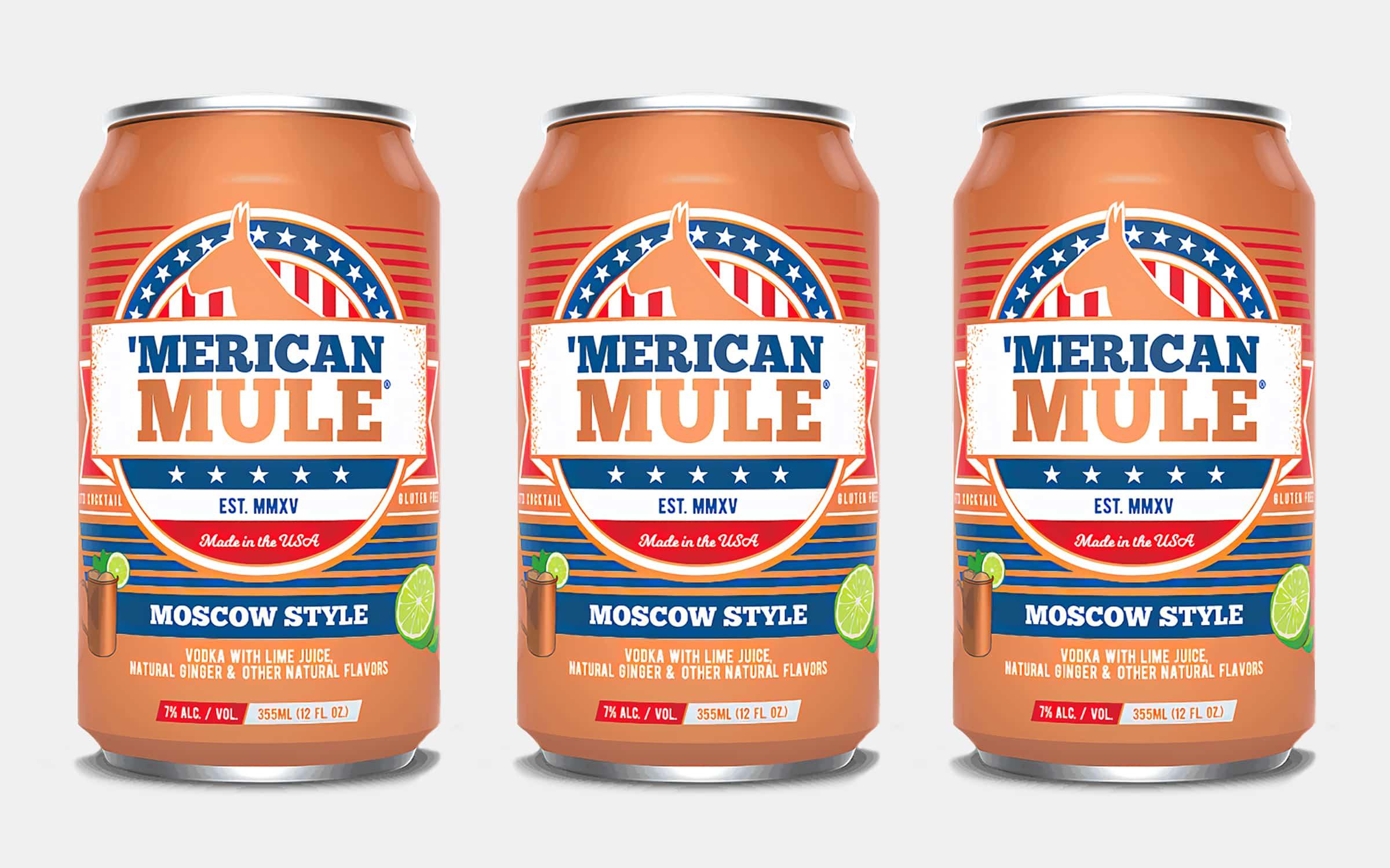 'Merican Mule Canned Moscow Mule