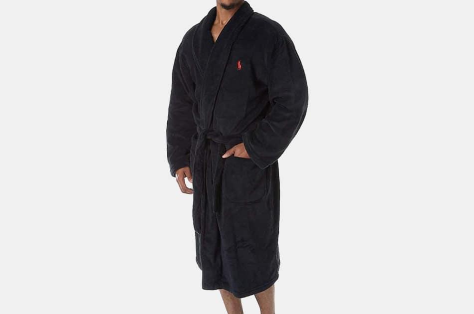 Polo Ralph Lauren Microfiber Plush Robe