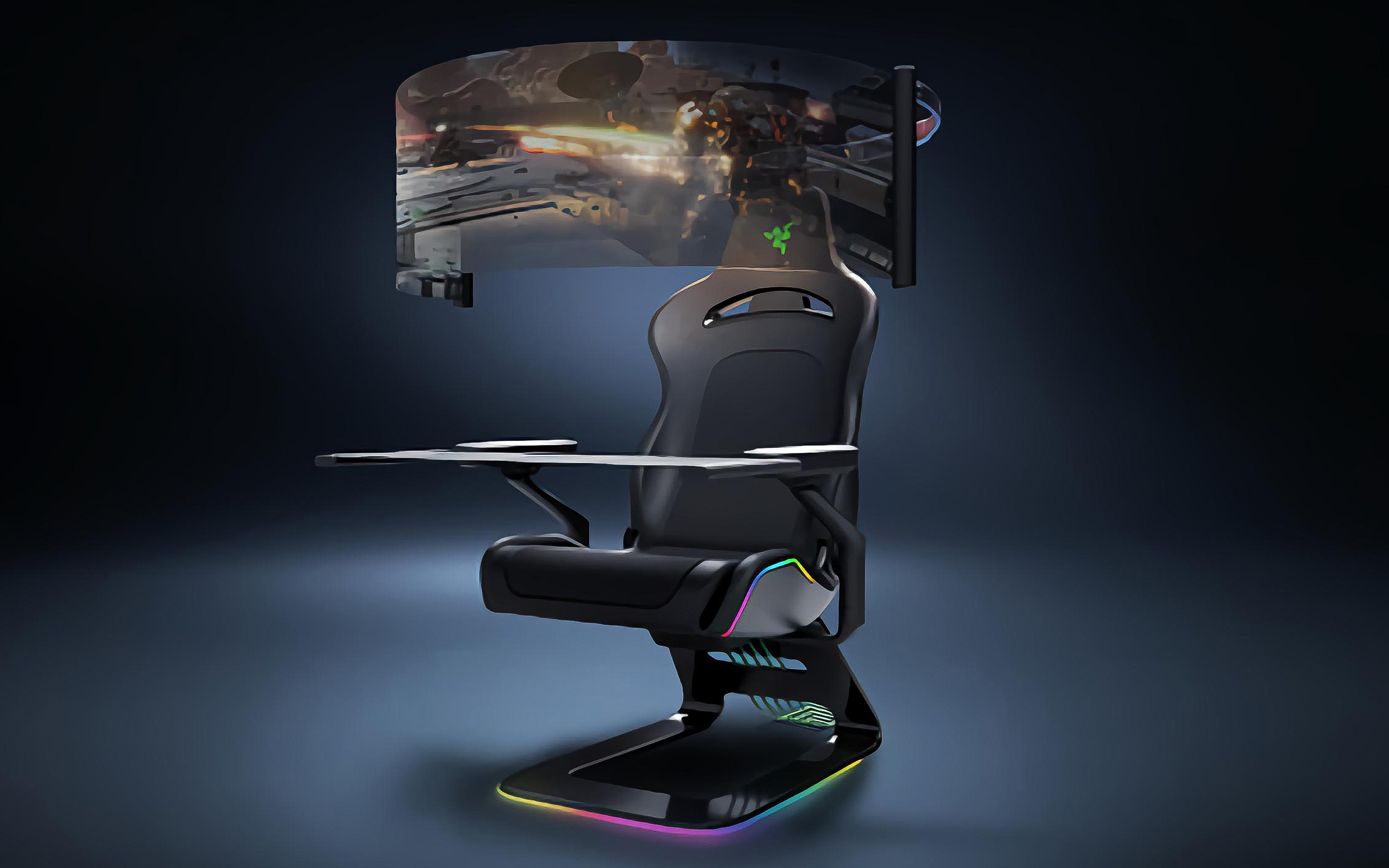 Razer Project Brooklyn Gaming Chair Concept