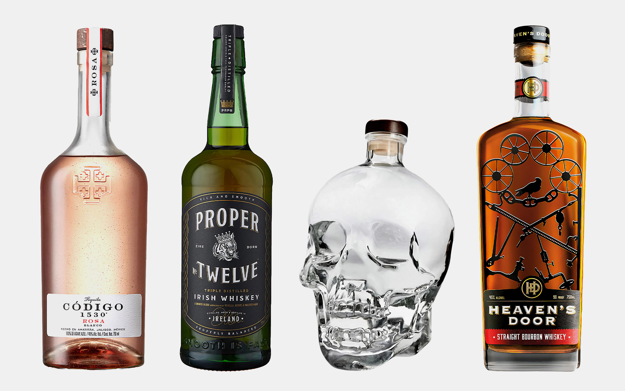 12 Best Celebrity Liquor Brands to Drink This Year