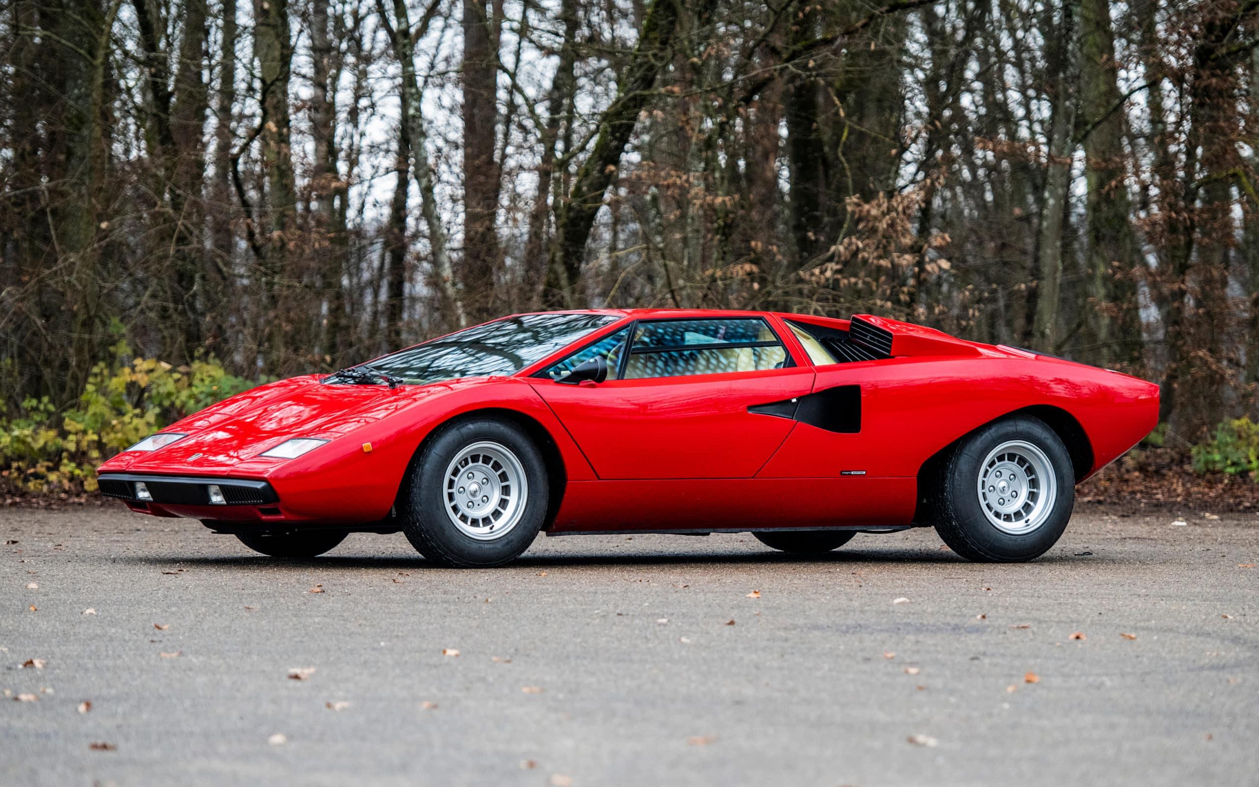 Rod Stewart's 1977 Lamborghini Countach LP400 'Periscopio'