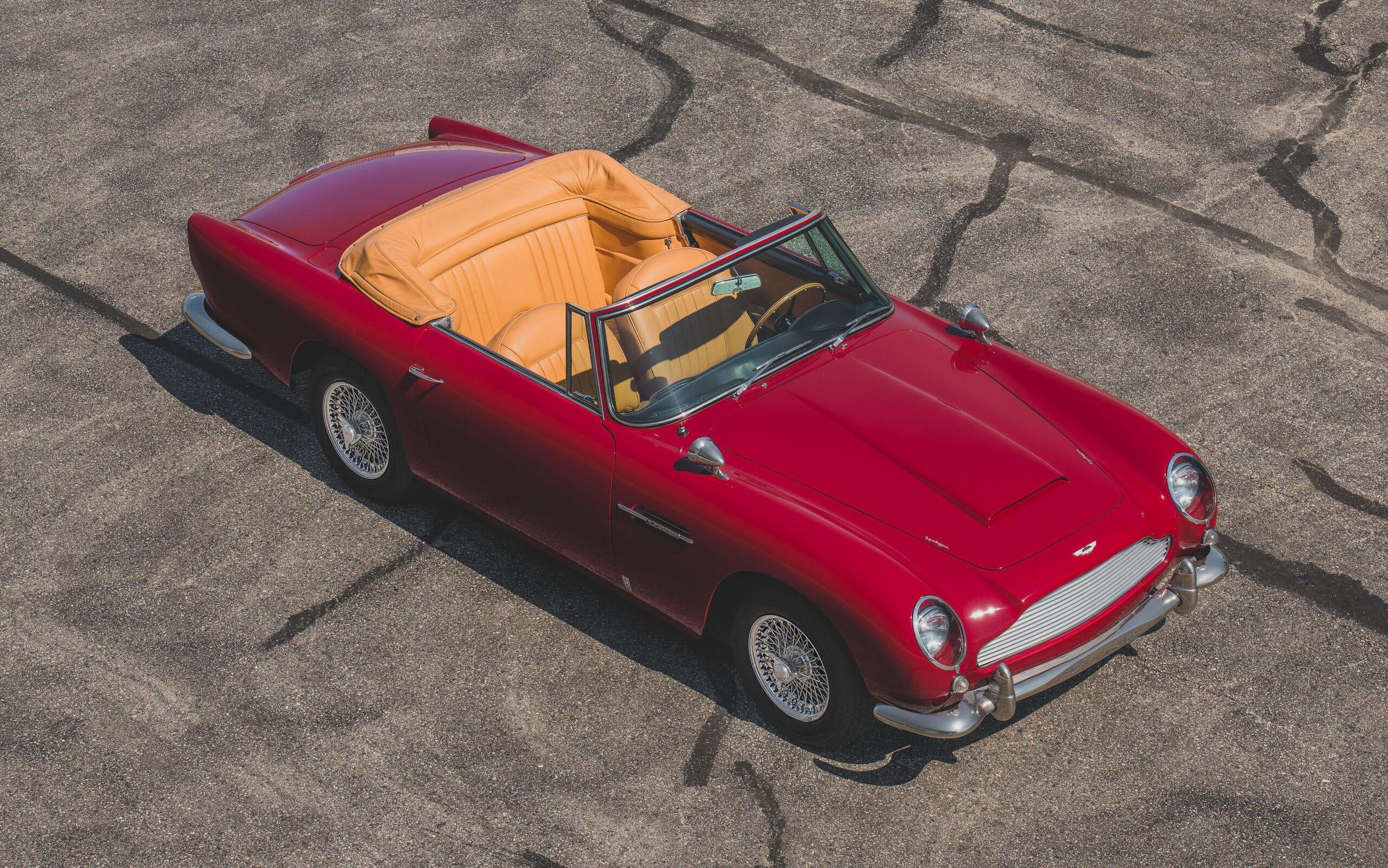 1965 Aston Martin D65 Vantage Convertible