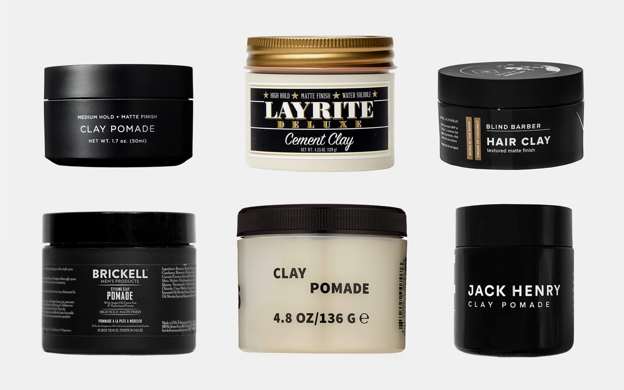The 12 Best Clay Hair Pomades