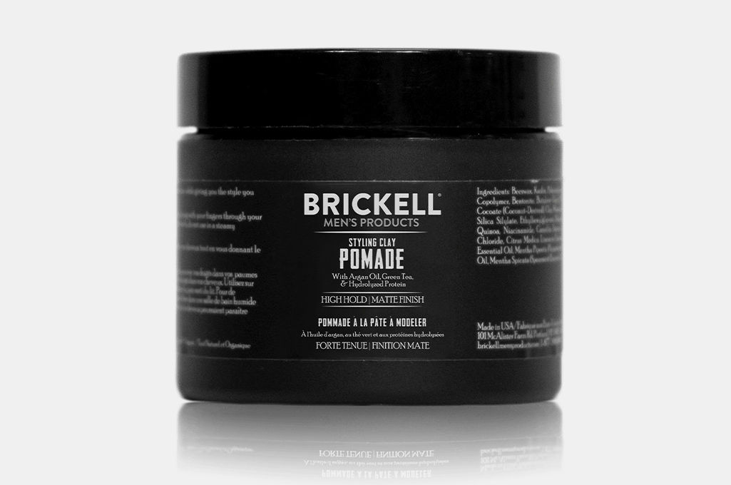Brickell Men's Styling Clay Pomade