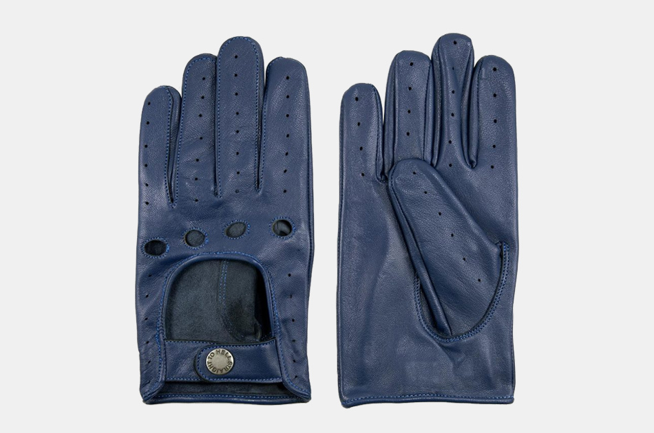 Bullit Leather Driving Gloves